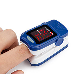 Remedy Health Fingertip Pulse Oximeter and Heart Rate Monitor