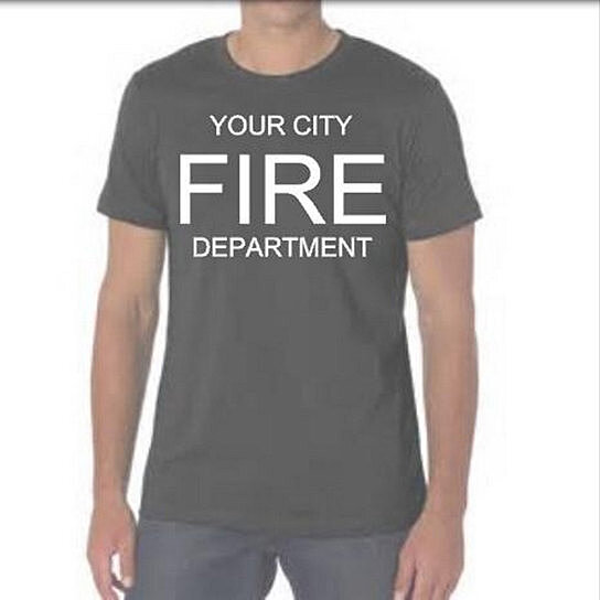 Buy Police Fire Department Personalized T Shirts Custom
