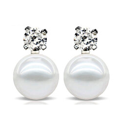SHINING STARS PEARL EARRINGS