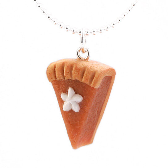 Buy scented pumpkin pie necklace by tinyhands on opensky for How to make scented jewelry