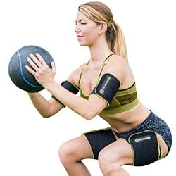 TNT Body Wraps for Arms and Slimmer Thighs - Lose Arm Fat & Reduce Cellulite - 4 Piece Kit