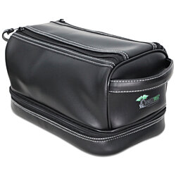 ToiletTree Products Toiletry Bag with TSA Bottles and Travel Sonic Toothbrush