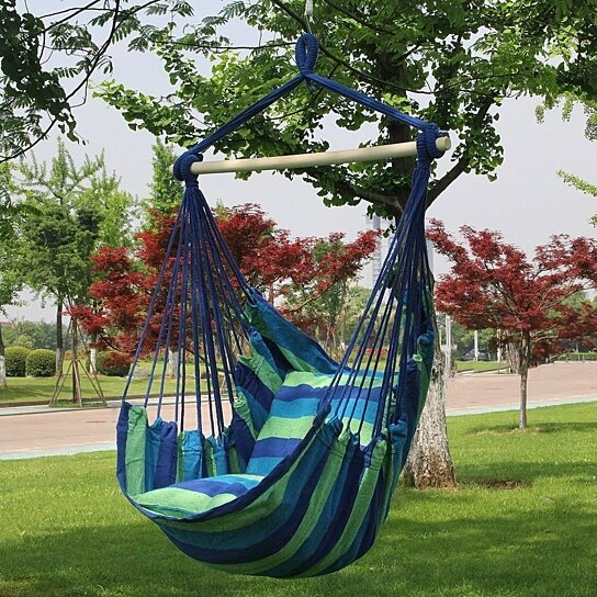 Buy Hanging Rope Hammock Chair Swing Seat 3 Colors By Toping On