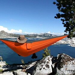 Portable Ultralight Nylon Double Hammock