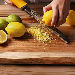 Premium Stainless Steel Lemon Cheese Zester Grater