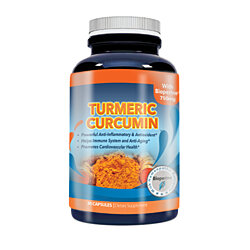 Turmeric Curcumin 750 mg with 95-percent Curcuminoids Extract plus Bioperine (30 capsules)