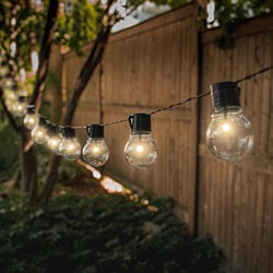 SOCIALITE | Solar Patio Edison LED String Lights