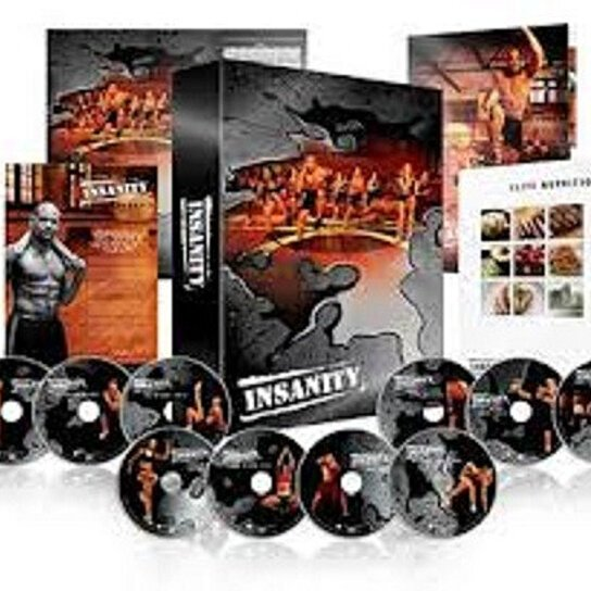 Fitness Beach Dvd: Buy INSANITY WORKOUT BEACHBODY 60 DAYS DELUXE 13 DVDs By