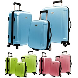 "Traveler's Choice Freedom 3-Piece Ultra-Lightweight Hardside Spinners & Roller Luggage Set - 21"" 25"" 29"""