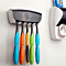 Wall Mounted Automatic Toothpaste Dispenser And Toothbrush Holder Set