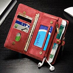 Luxury Leather iPhone Case With Detachable Magnetic Close Wallet for iPhone 7/7 Plus