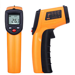 Digital Laser Thermometer - Non Contact, Safe To Use, Infrared Technology