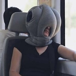 'Ostrich' Travel Pillow - Nap Anywhere Multipurpose Cushion Pillow