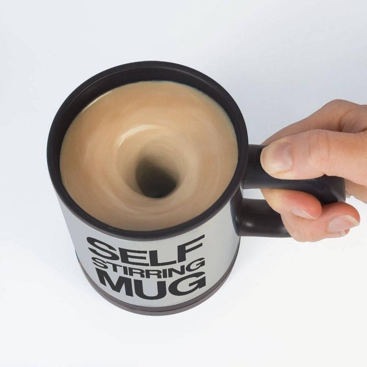 Self Stirring Coffee Mug - Black 59a4122bc98fc419fc495dd4