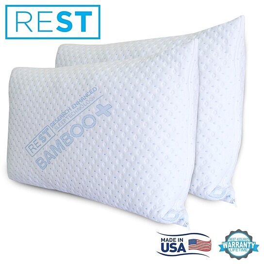 Buy 2pk king bamboo pillow cover with zipper by rest turn for Bamboo pillow bed bath and beyond