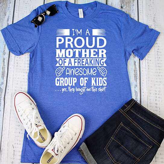 856652481 Trending product! This item has been added to cart 84 times in the last 24  hours. Unisex T-Shirts, Proud Mother of Awesome ...