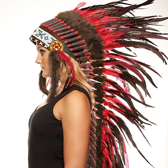 Buy Inspired Indian Headdress Xh007 Native American Chief