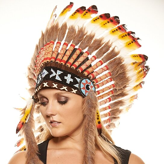 Buy Inspired Indian Headdress Mh018 Native American Chief