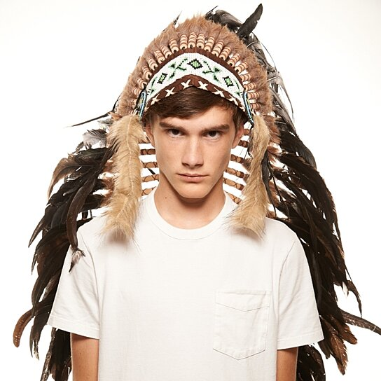 Inspired Indian Headdress XH001 Native American Chief Hat Hand Made Indian  War Bonnet (43