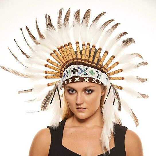 Inspired Indian Headdress SH004 Native American Inspired Chief Hat Hand  Made Indian War Bonnet (30