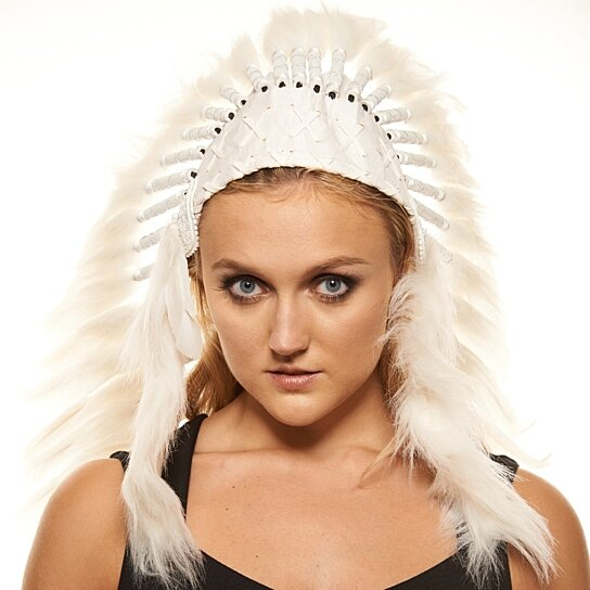 Buy Inspired Indian Headdress XH003 Native American Chief Hat Hand Made  Indian War Bonnet (43