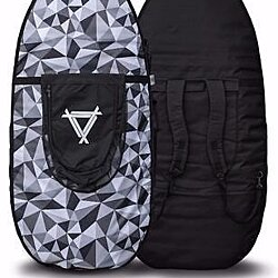 "66"" Skimboard/Wakesurfer Double Backpack Style Travel Bag/Pixel"