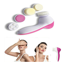 Facial Brush Cleansing 5-in-1 Multifunction System for Advanced Deep Cleaning - For Beautiful Skin