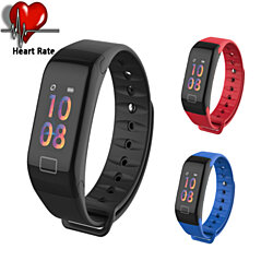 Fitness Tracker Watch Sport Activity Bluetooth Monitor Waterproof