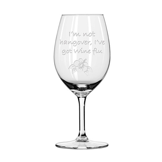 Etched Glass Wedding Gifts: Buy Funny Wine Glass, Personalized Engraved Wine Glass