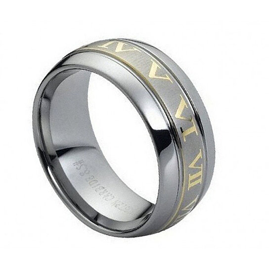 ENGRAVING MMTR148 Tungsten Carbide Engagement Ring By Tungsten Band