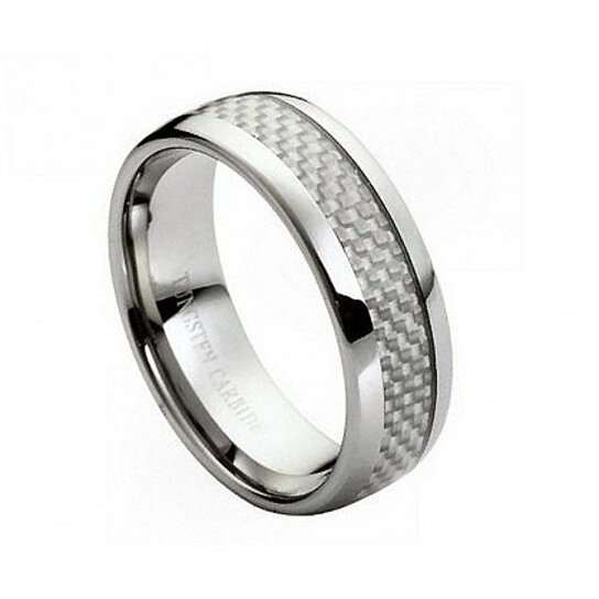 ENGRAVING MMTR203 Tungsten Carbide Engagement Ring By Tungsten Band