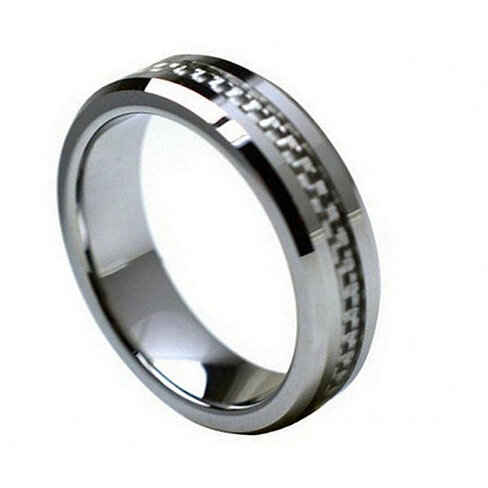 Wedding Ring Inscriptions Band FREE ENGRAVING MMTR213 Tungsten Carbide Engagement