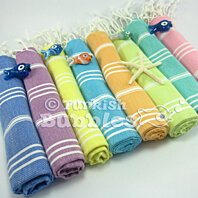 Organic Soft Cotton Baby Towels set of 8