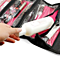 4 Zippered Compartment Makeup Toiletry Cosmetics Medicine Shaving Accessory Kit Travel Bag Organizer