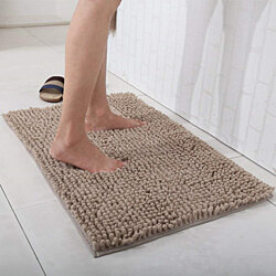 Soft Microfiber Non-Slip Bath Mats for Bathroom