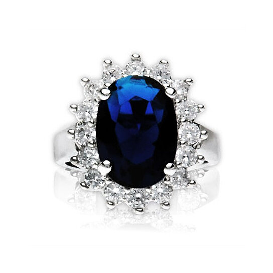buy quot the princess quot kate middleton inspired blue sapphire