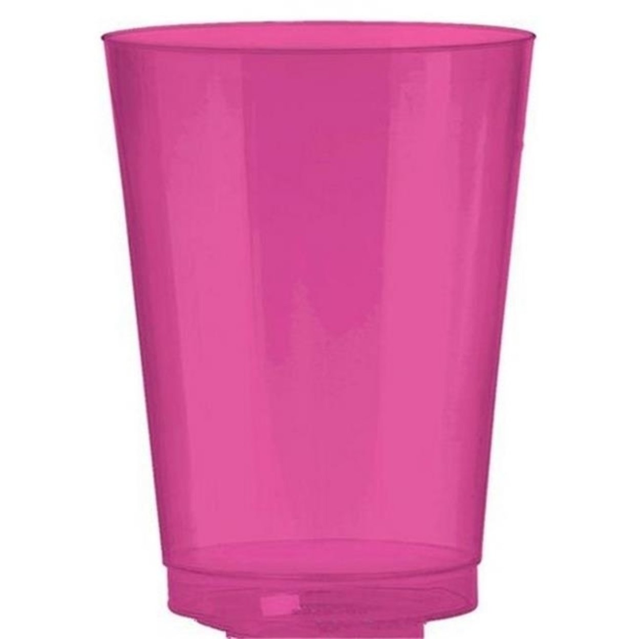 Amscan 350363.103 Tumbler Plastic 10 oz. Big Party Packs - Bright Pink - Pack of 432 5a39e90be2246111b32ec168