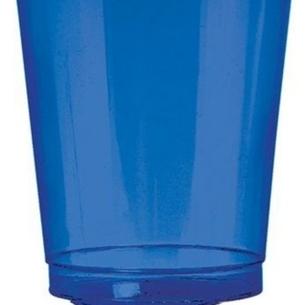 Amscan 350363.105 Tumbler Plastic 10 oz. Big Party Packs - Bright Royal Blue - Pack of 432 5a39e90b2a00e45b4c76404f