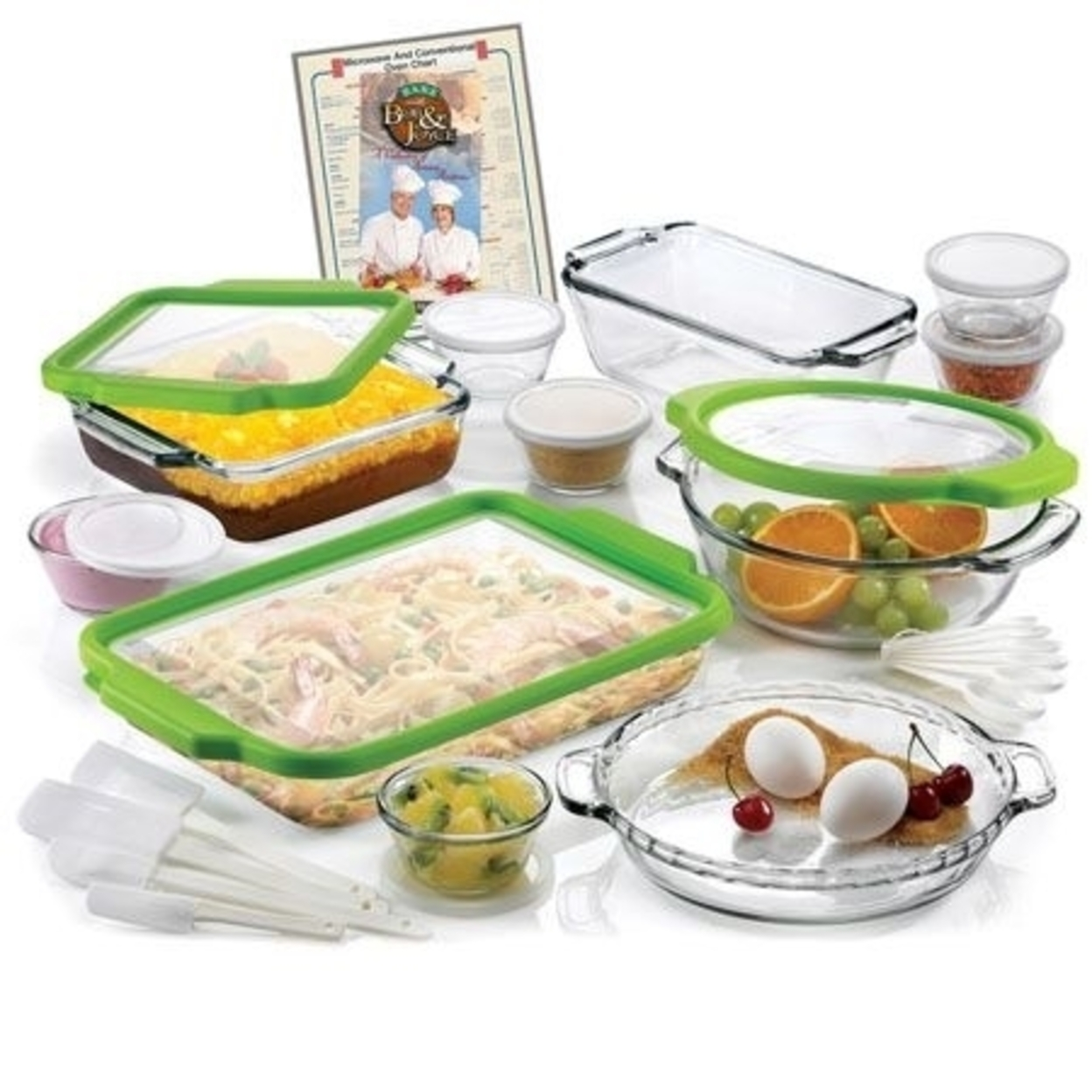 Anchor Hocking Ah32Tf 32 Pc Ovenware Set w TrueFit See-Thru Lids 596d4d092a00e43d260e9286