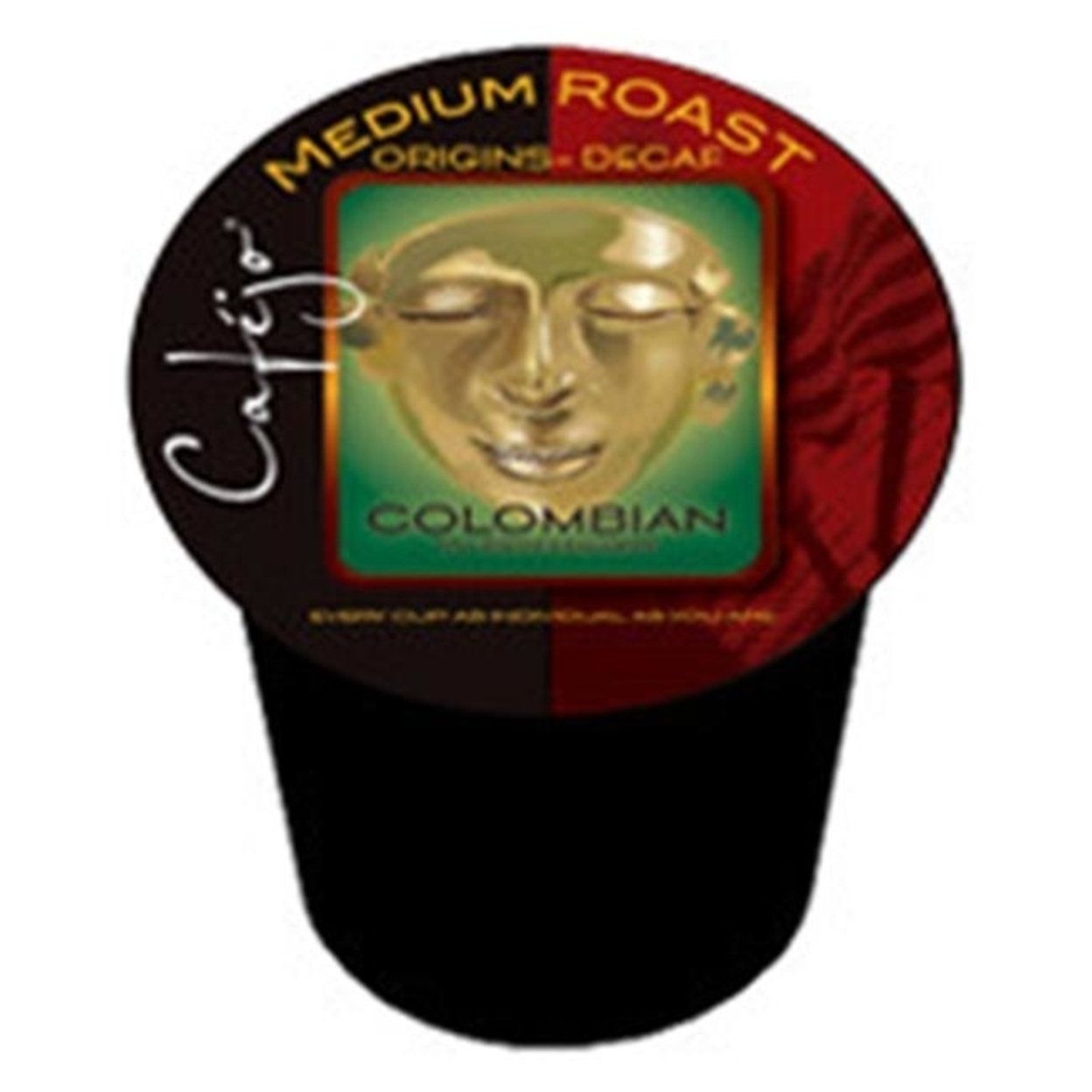 Cafejo K-Cj-Dc-1-50 Decaf Colombian K-Cups for Keurig Brewers 596d1e2b2a00e4250f5a690a