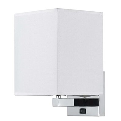 Cal Lighting LA-8028WL-1-BS 60W Wall Lamp With Rocker Switch