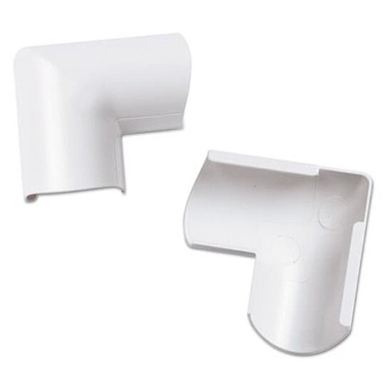 buy dln fldb3015w2pk clip over door top bend for mini cord cover white by unbeatablesale inc on. Black Bedroom Furniture Sets. Home Design Ideas