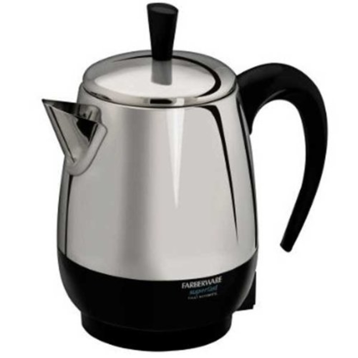 Farberware Electrics Fcp280 Millenium Automatic Stainless Steel Coffee Percolator - 2-8 Cup 596d157e2a00e447a74ebd74