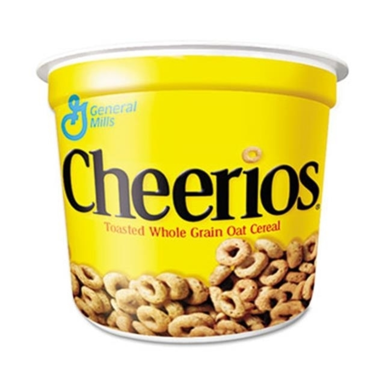 General Mills Sn13896 Cheerios Breakfast Cereal Single-Serve 1.3oz Cup 6 Cups-Pack 5a3bee0c2a00e42a48220a56