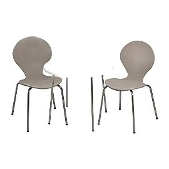 Buy giftmark 3012g modern childrens table and 2 chair set for Grey childrens chair