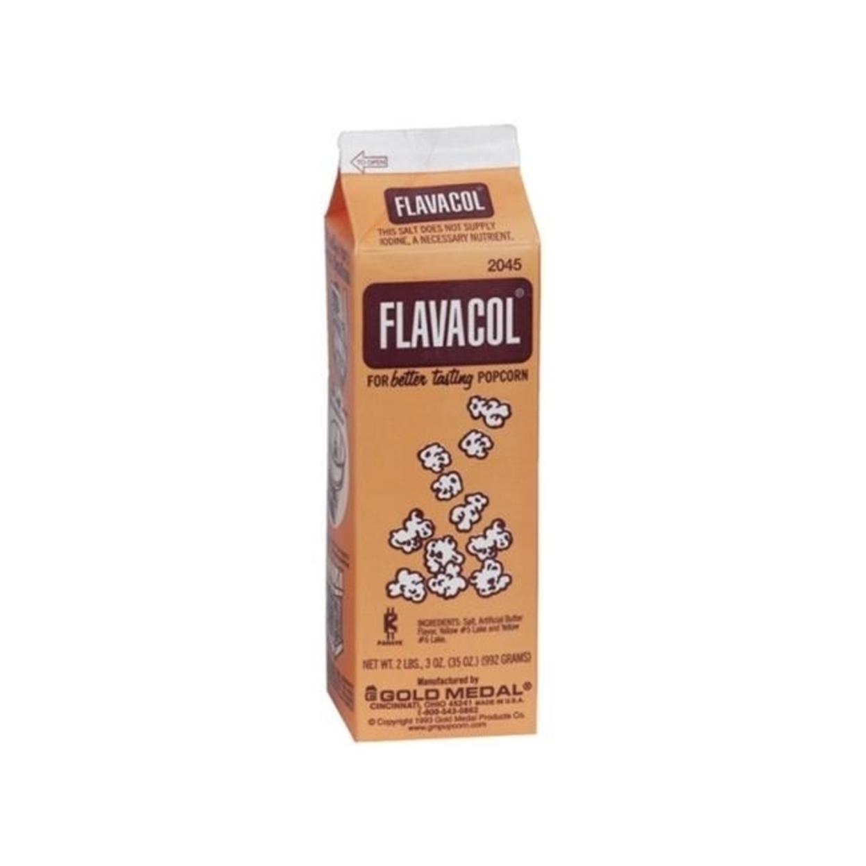 Gold Medal 2045 Flavacol Popcorn Salt 35 oz - pack of 12 5a399da12a00e433f72cfc28