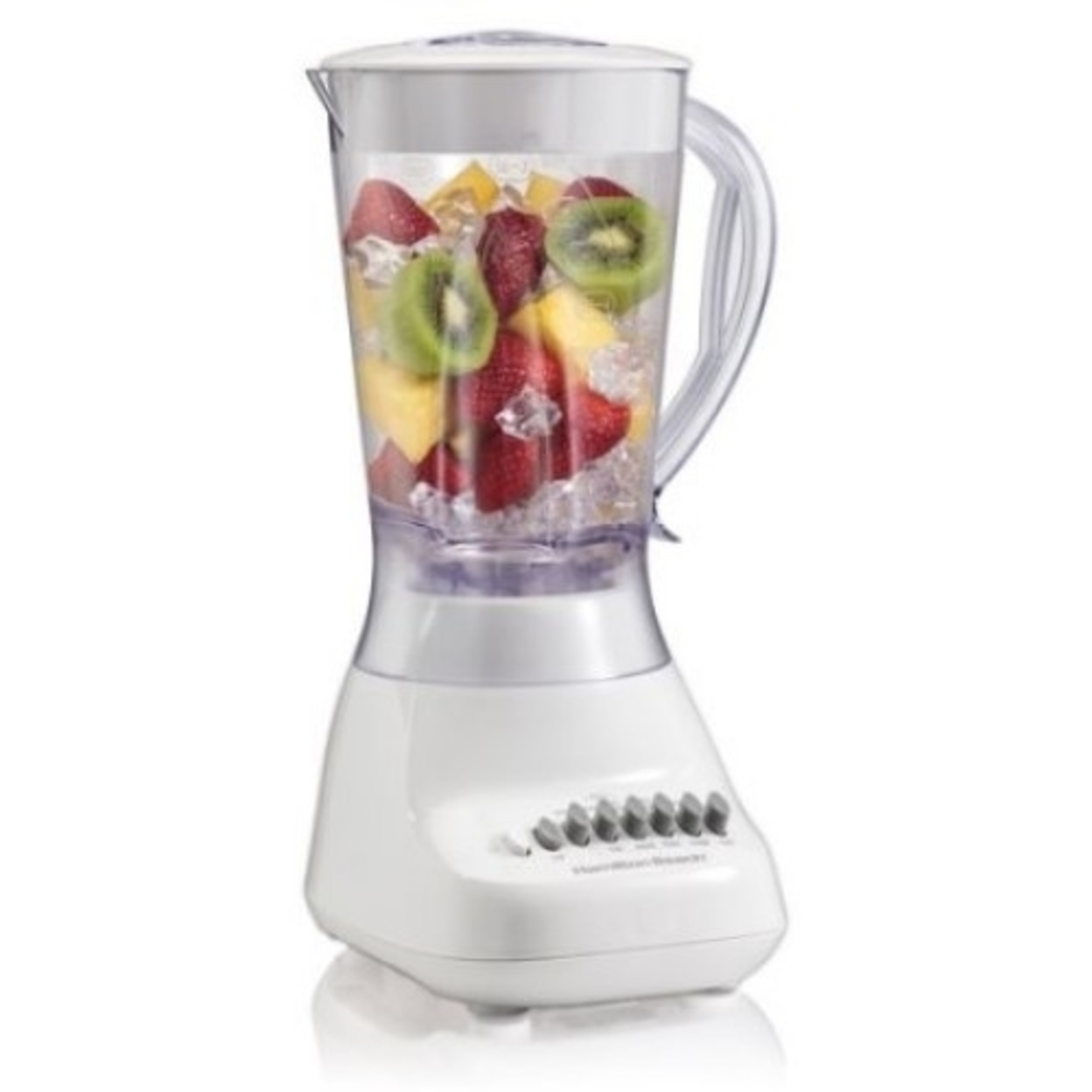 Hamilton Beach Brands 219839 50166 10Spd 400W Wht Blender 5a4021c8e224610be53c72e4