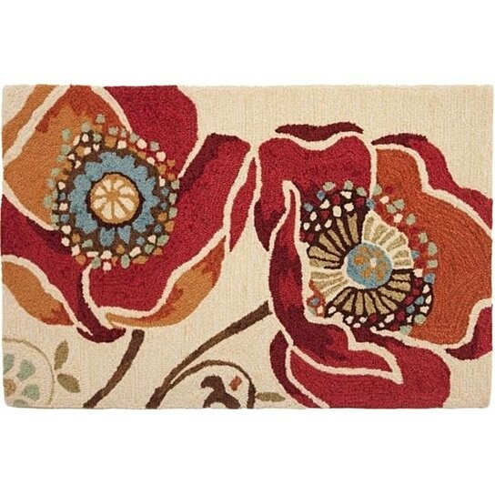 Buy Homefires Rugs PY-DAP009 Moroccan Red Daphne B. Rug By