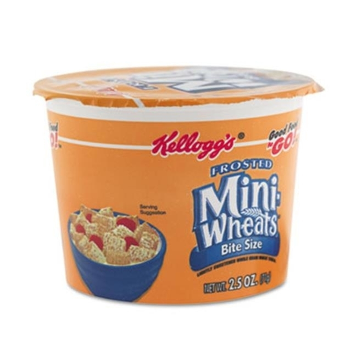Keebler 42799 Breakfast Cereal Frosted Mini Wheats Single-Serve 2.5 oz 6 Cups-Box 5a3d6324e2246116f7601ea4
