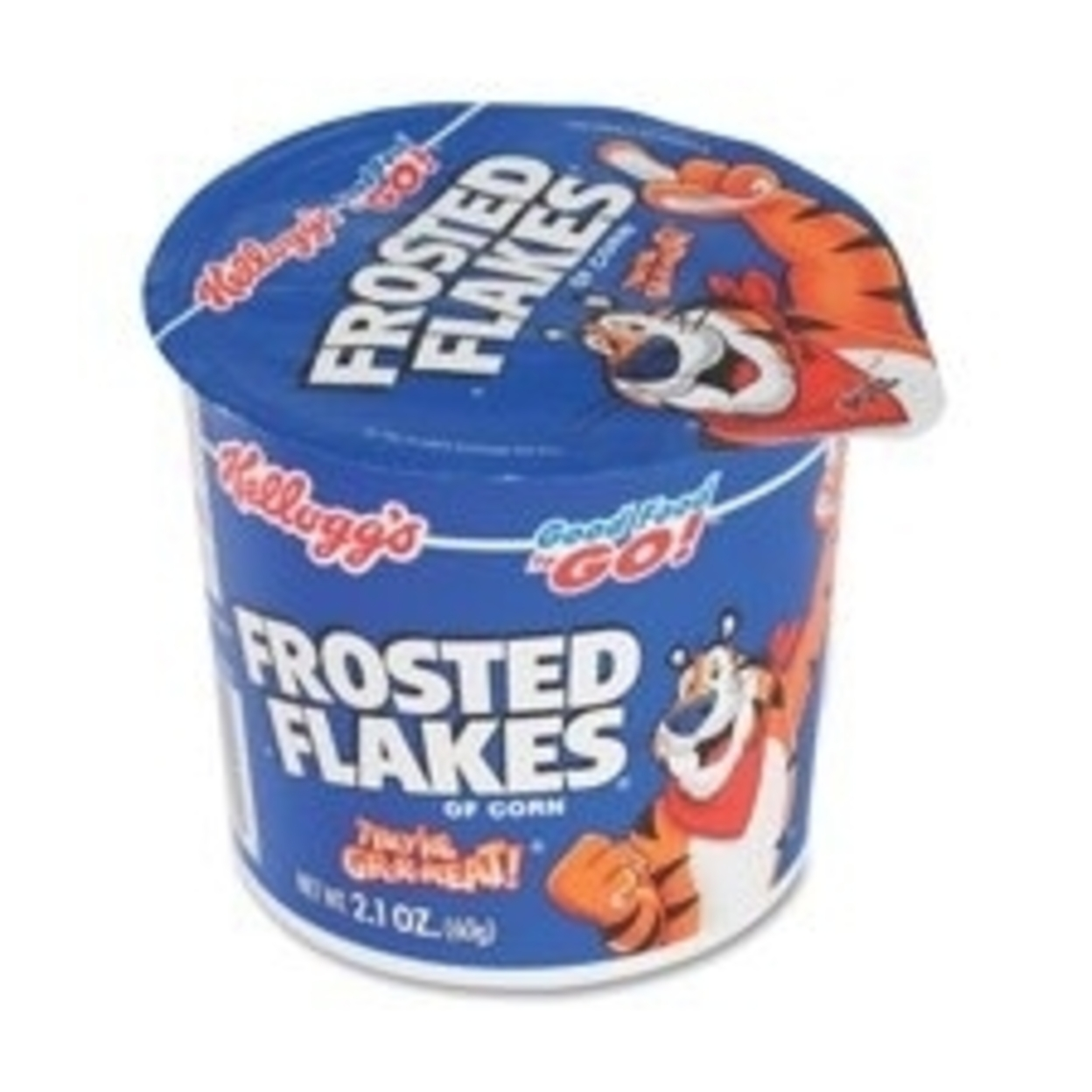 Keebler Co. Keb01468 Cereal-in-a-Cup, Super Size, 2.1 oz., 6-Pk, Frosted Flakes 5a3c4ac4e224617b9878a6cc